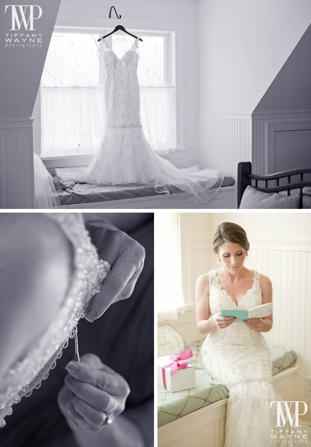 Maggie Bride, Emma, wearing Blakely by Maggie Sottero.