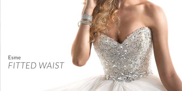 Maggie Sottero's Esme ballgown wedding dress