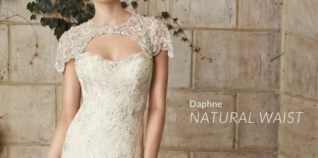 Desiree Hartsock with Maggie Sottero lace wedding dress