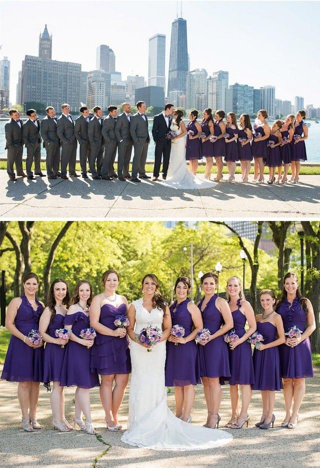 Gorgeous Chicago wedding from Maggie Bride.