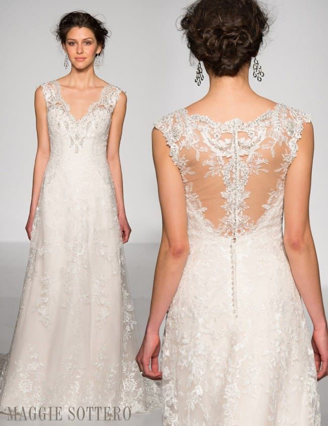 Fall 2015 Collections by Maggie Sottero and Sottero and Midgley.